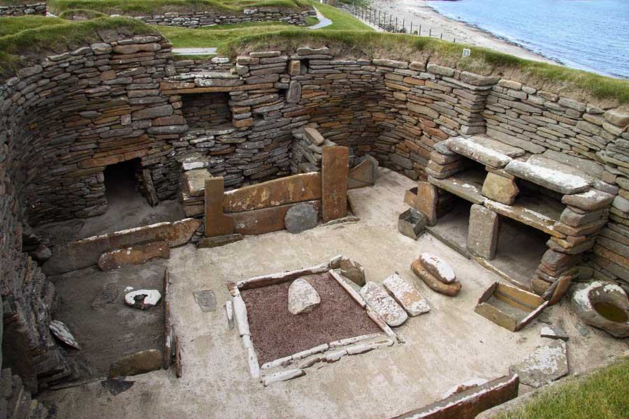 Skara Brae, Bay of Skaill, West Mainland
